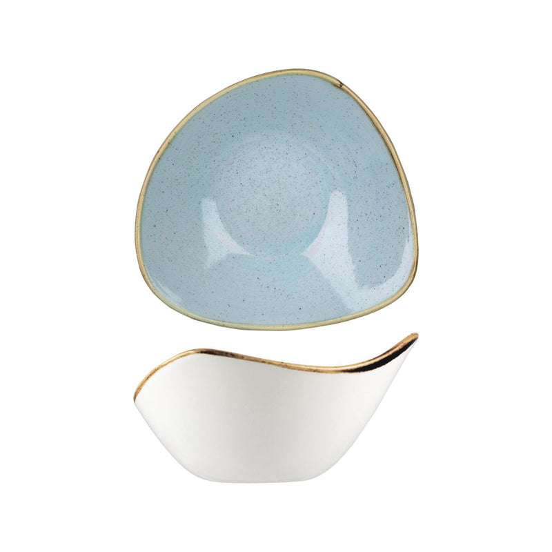 9975715-D Stonecast Duck Egg Triangular Bowl 153x153mm / 260ml Chemworks Hospitality Canberra