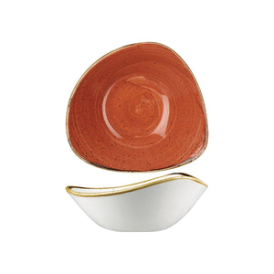 9975718-O Stonecast Spiced Orange Triangular Bowl 185x185mm / 370ml Chemworks Hospitality Canberra