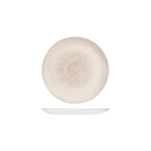 9976116-AG Studio Prints Raku Agate Grey Round Coupe Plate 165mm Chemworks Hospitality Canberra