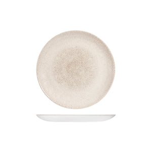 9976122-AG Studio Prints Raku Agate Grey Round Coupe Plate 217mm Chemworks Hospitality Canberra