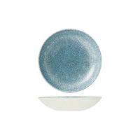 9976618-TB Studio Prints Raku Topaz Blue Round Coupe Bowl 182mm / 426ml Chemworks Hospitality Canberra