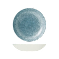 9976625-TB Studio Prints Raku Topaz Blue Round Coupe Bowl 248mm / 1136ml Chemworks Hospitality Canberra