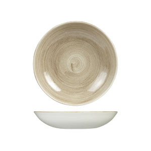 9978225 Stonecast Patina Antique Taupe Round Coupe Bowl 248mm / 1136ml Chemworks Hospitality Canberra