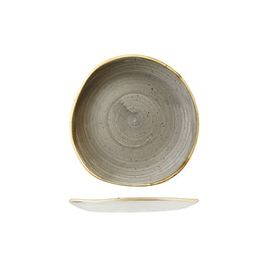 9979118-P Stonecast Peppercorn Grey Organic Round Plate 186mm Chemworks Hospitality Canberra