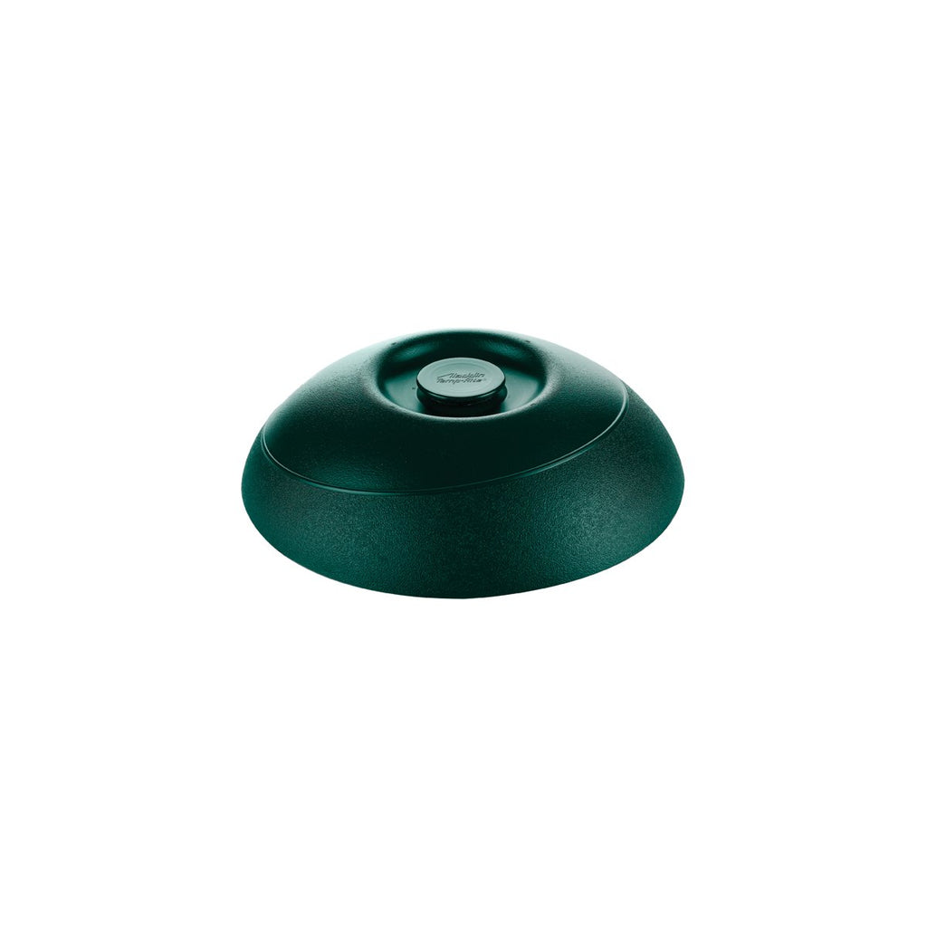 ALD160-MOF Insulated Dome Plate Cover Harvest Black 230mm Chemworks Hospitality Canberra
