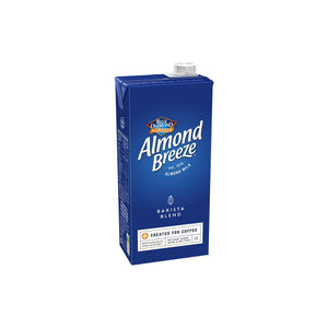 ALMOND-BREEZE Blue Diamond Almond Breeze Long Life Milk Barista Blend 1.0Lt Chemworks Hospitality Canberra