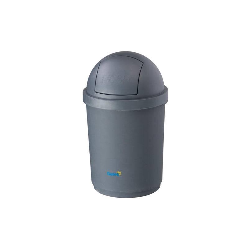 BB-28DGY Dome Swing Top Bin - Grey Chemworks Hospitality Canberra