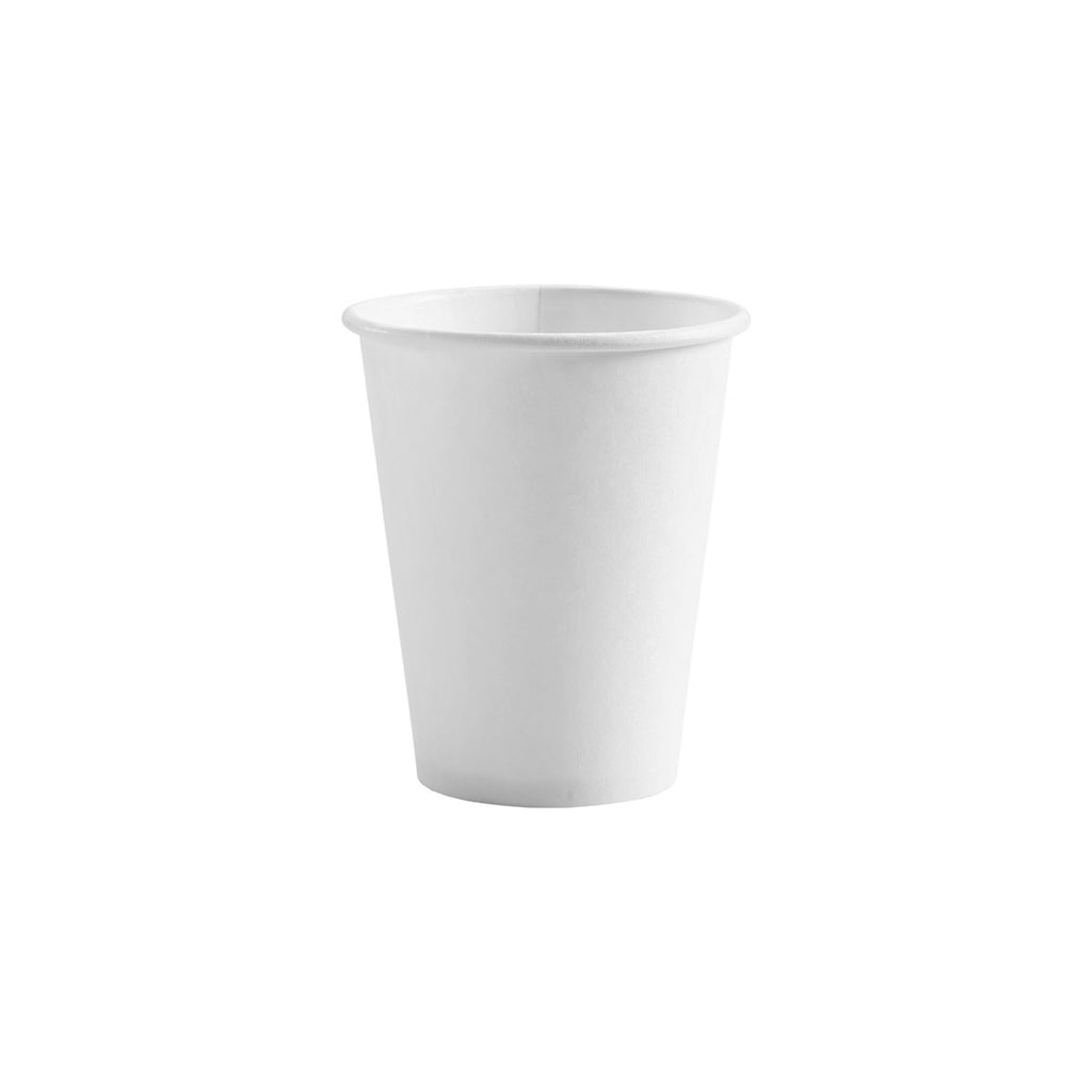 BC-12W BioPak BioCup 12oz Single Wall Cup White Chemworks Hospitality Canberra