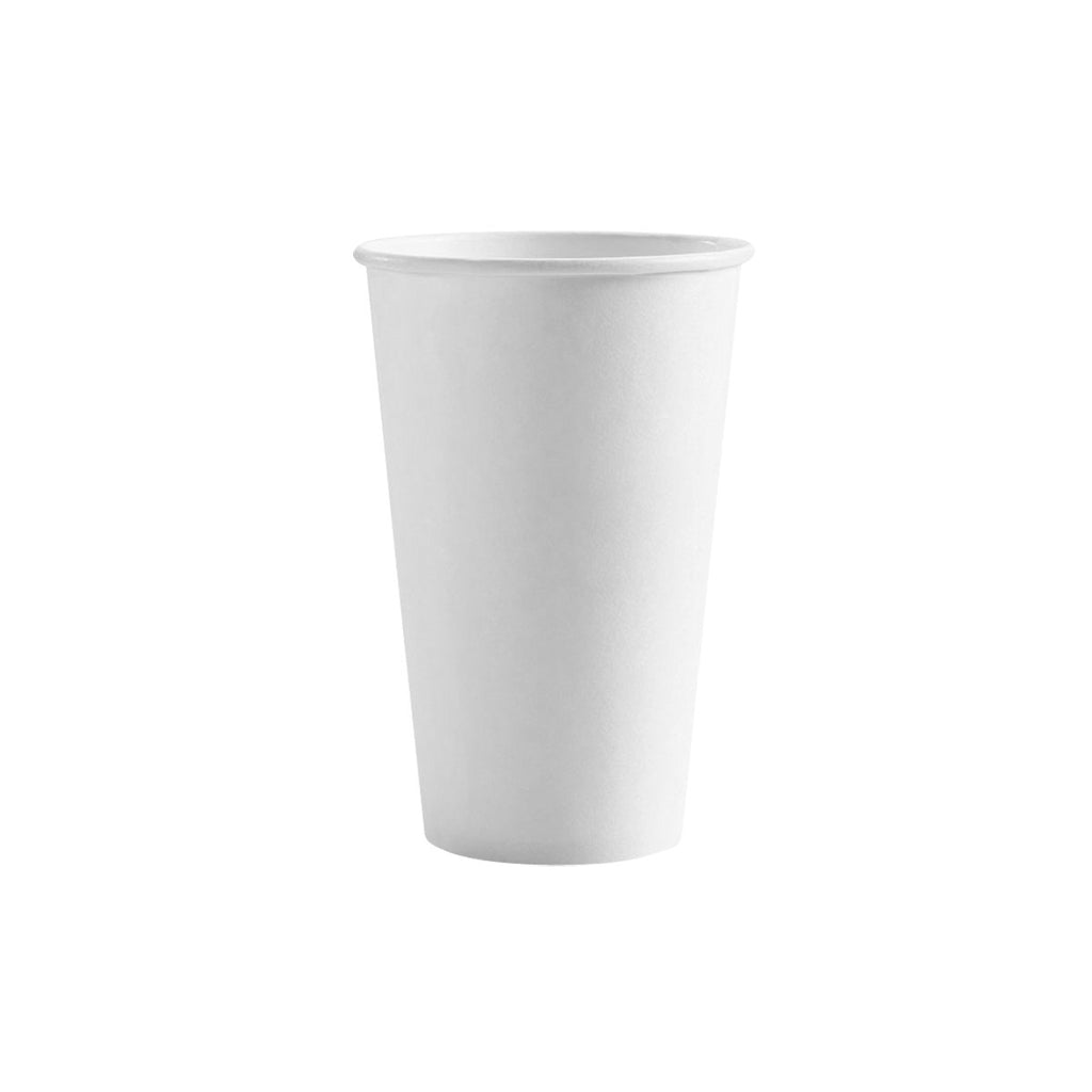 BC-16W BioPak BioCup 16oz Single Wall Cup White Chemworks Hospitality Canberra