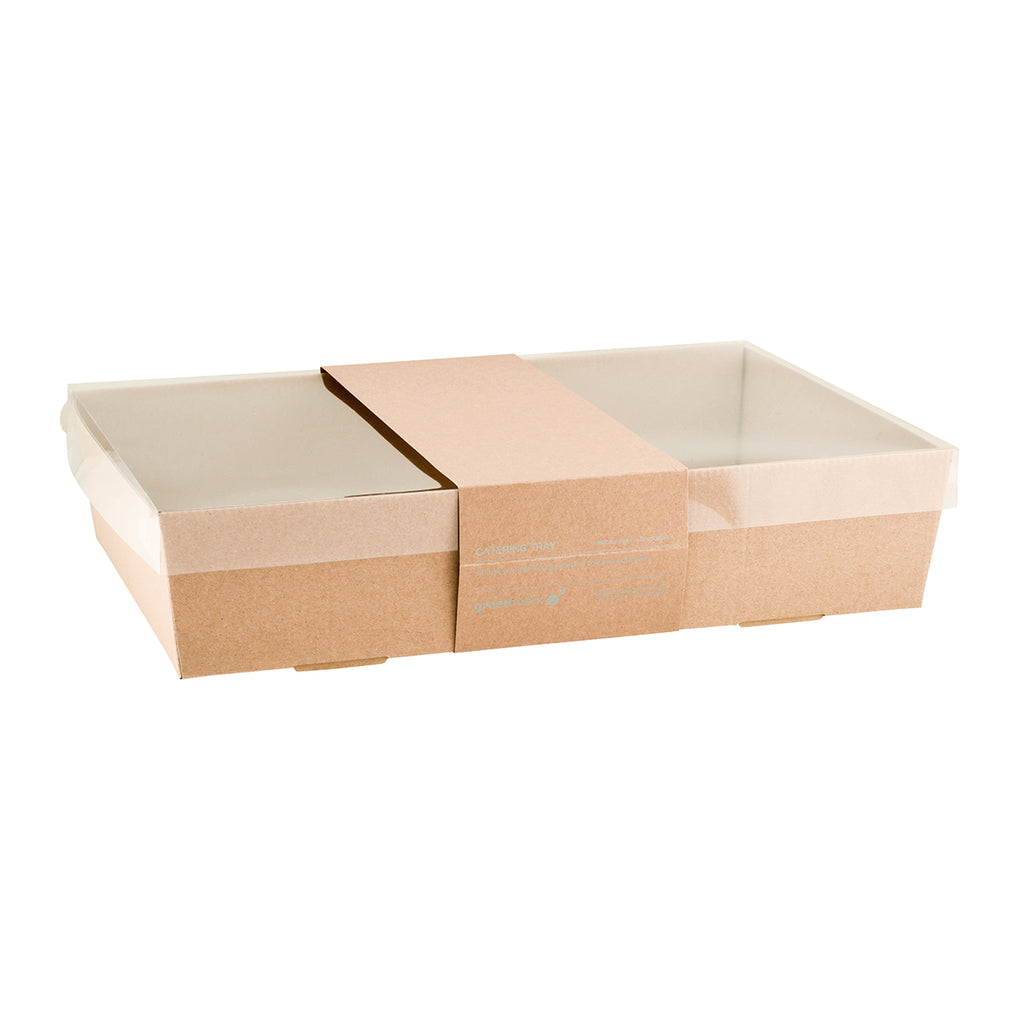 Catering Trays Kraft Medium