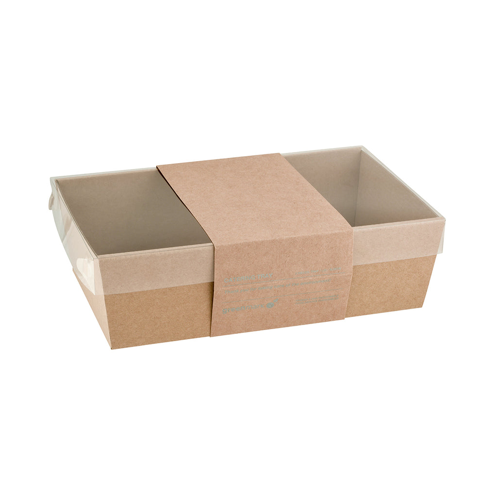 Catering Trays Kraft Small