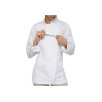 BCWLZ005-WHT-XL Chefworks Chef Jackets White Hartford Female Chef Jacket  X-Large Chemworks Hospitality Canberra