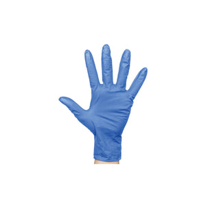 BNG6833 Nitrile Blue Gloves Powder-Free - Medium Chemworks Hospitality