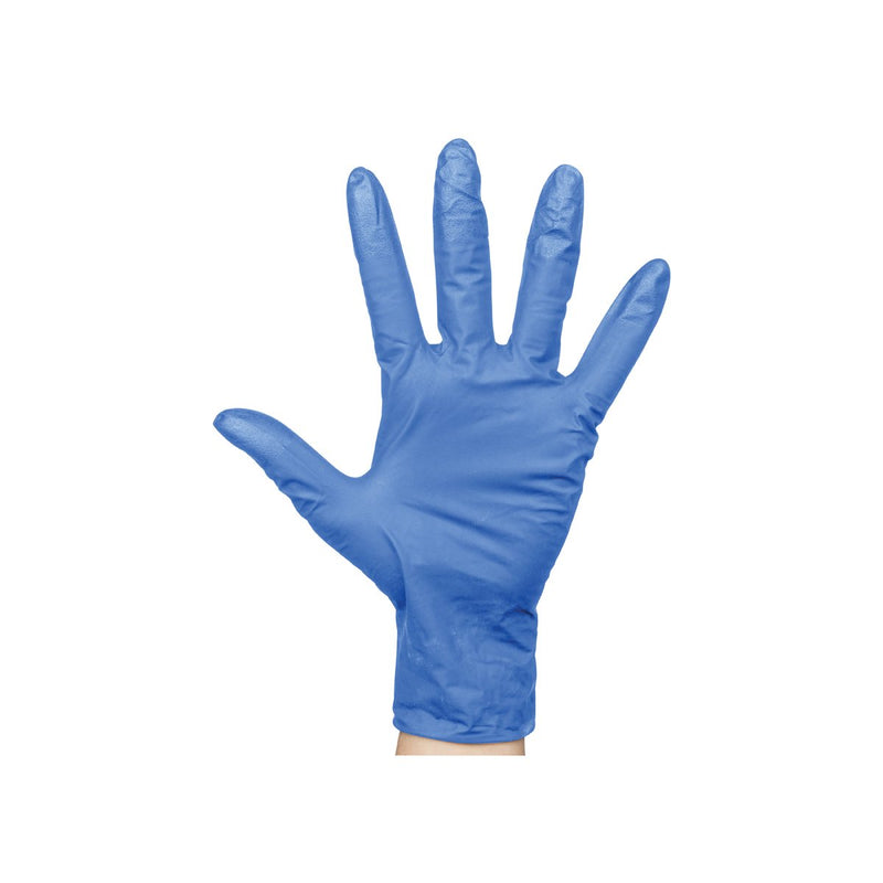 BNG6835 Nitrile Blue Gloves Powder-Free - X-Large Chemworks Hospitality