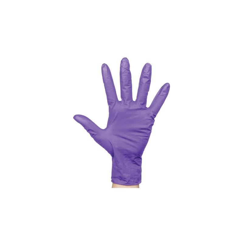 BNG6852 Nitrile Purple Gloves Powder-Free - Small Chemworks Hospitality