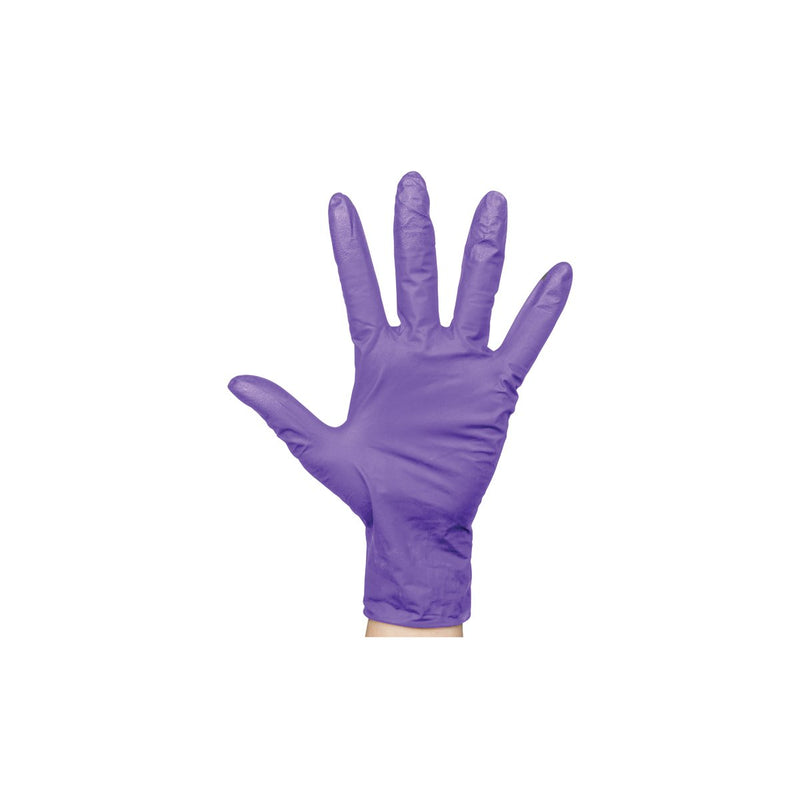 BNG6853 Nitrile Purple Gloves Powder-Free - Medium Chemworks Hospitality