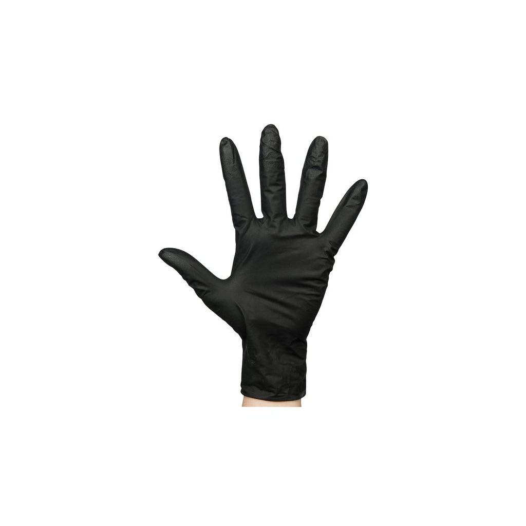 BNG7852 Nitrile Black Gloves Powder-Free - Small Chemworks Hospitality