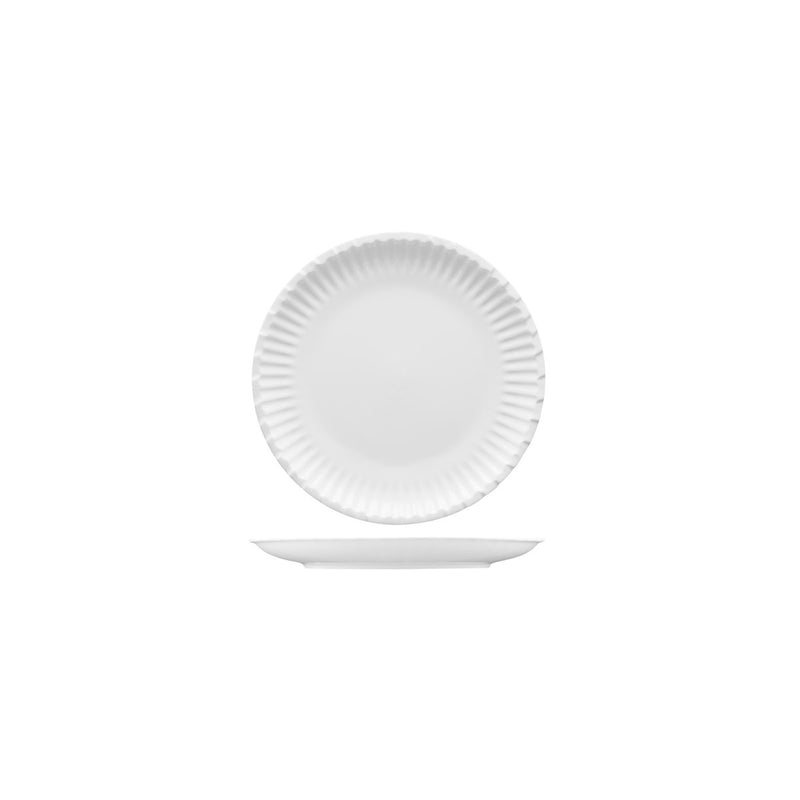 CA-CP6 Capri Round Coated Paper Plates White 150mm Chemworks Hospitality Canberra
