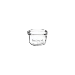 CC6411666-TR Luigi Bormioli Lock-Eat Food Jar - Glass 125ml