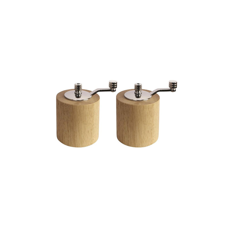 CE246 Salt & Pepper Grinder Set - Bamboo 80mm