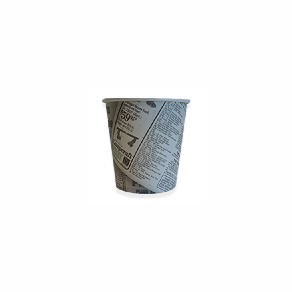 CHIP12 Newsprint Chip Cups Chip Cup 355ml / 12oz (1000/Ctn) Chemworks Hospitality Canberra