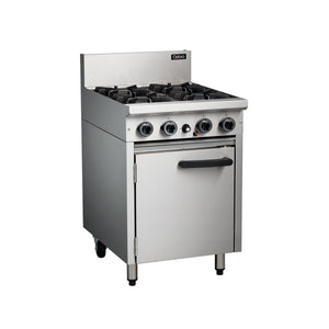 MO-CR6D Cobra 600mm Gas Oven Range with Static Oven Chemworks Hospitality