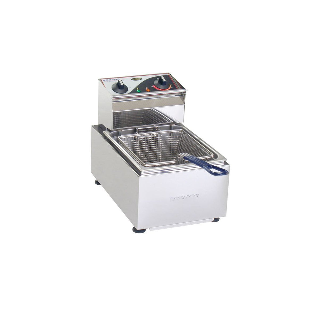 RO-F15 Roband Deep Fryer Single Pan 5ltr Chemworks Hospitality
