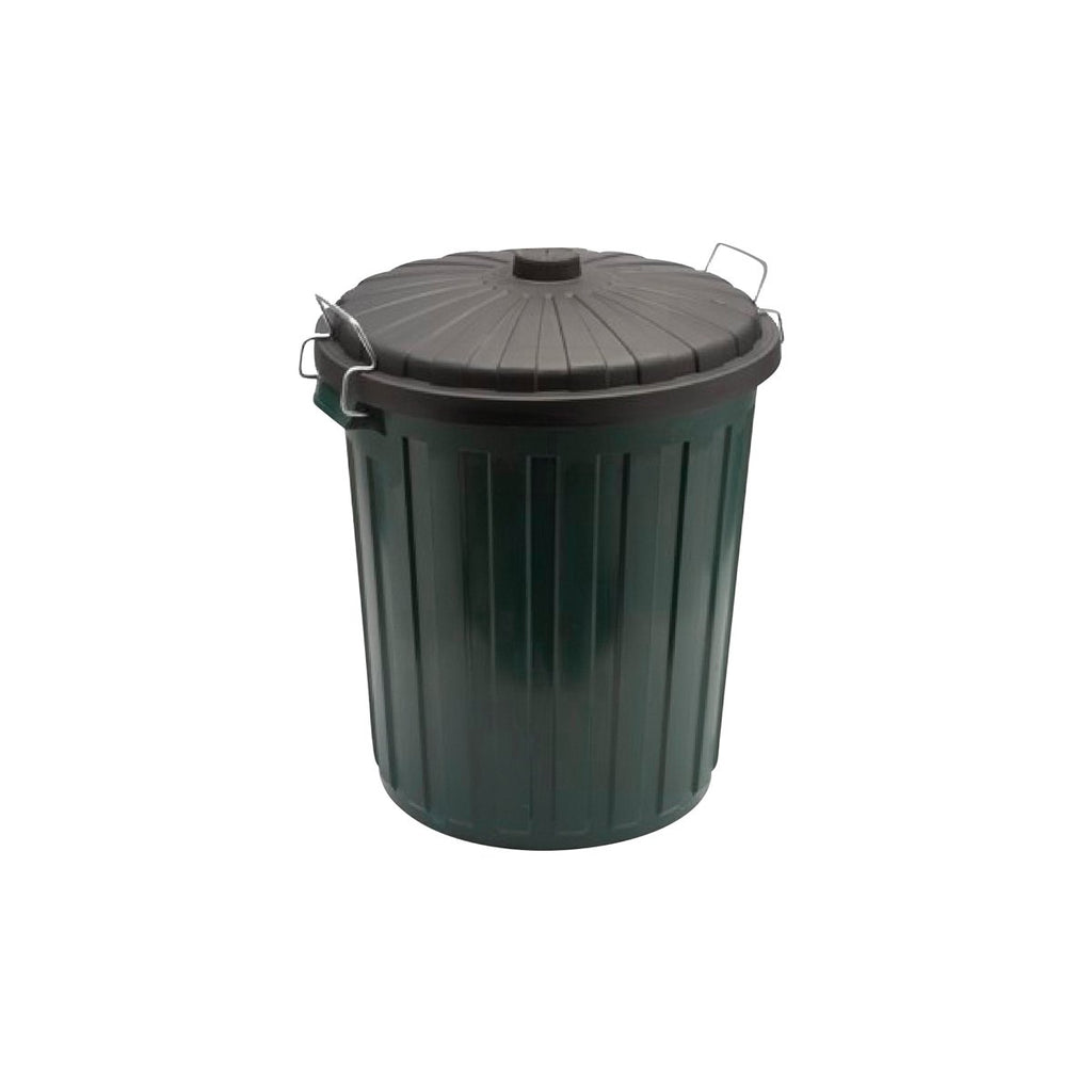 GB-55PLAS Plastic Garbage Bin With Lid - Green Chemworks Hospitality Canberra