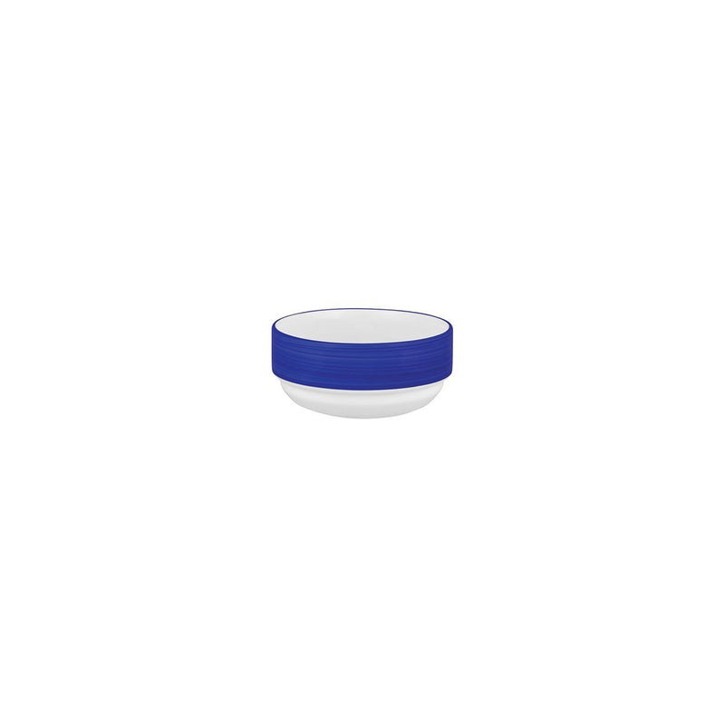 L0857-LBL-TR Australian Fine China Stocked Studio Stackable Bowl Leschenaultia Blue Chemworks Hospitality Canberra