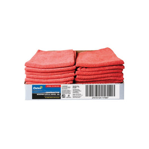 MF-020R All-Purpose Microfibre Cloth - Red Chemworks Hospitality Canberra