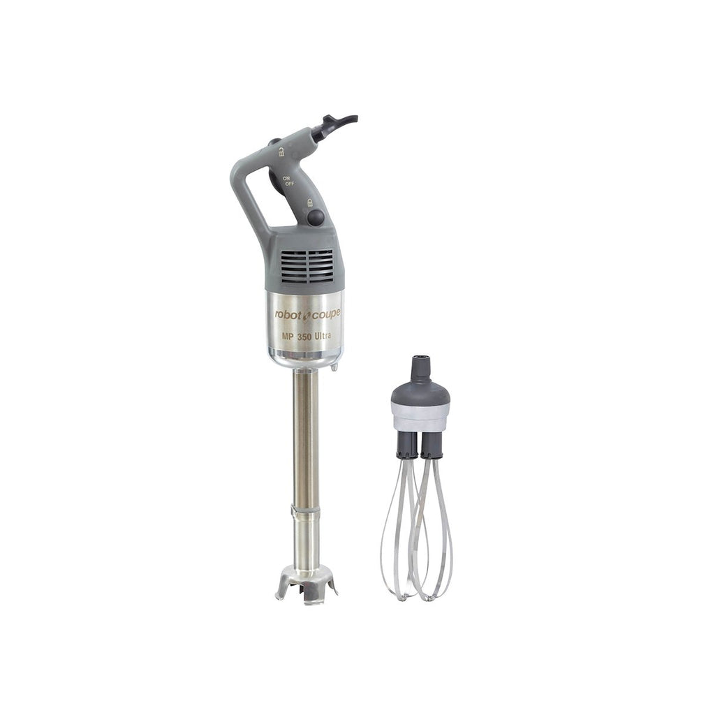 RC-MP450Combi Robot Coupe Stick Blender Power Mixer 350mm Shaft 280mm Whisk Chemworks Hospitality