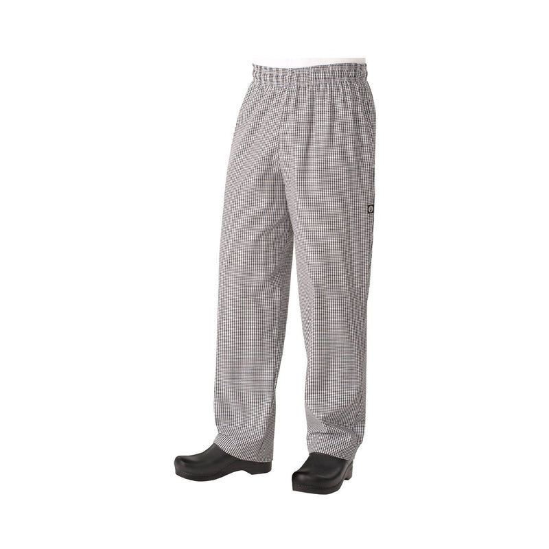 NBCP-L Chefworks Chef Pants Small Check Baggy Chef Pants  Large Chemworks Hospitality Canberra