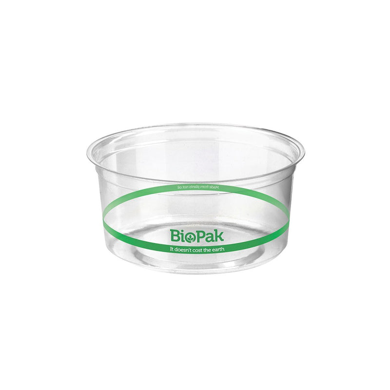 P-500 BioPlastic Round Takeaway Containers 500ml Eco Friendly Food Packaging Chemworks Hospitality Canberra