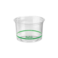 P-240 BioPlastic Round Takeaway Containers 240ml Eco Friendly Food Packaging Chemworks Hospitality Canberra