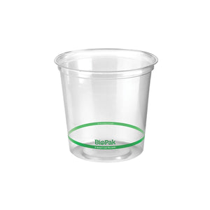 P-700 BioPlastic Round Takeaway Containers 700ml Eco Friendly Food Packaging Chemworks Hospitality Canberra