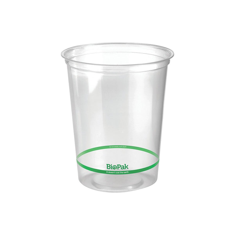 P-960 BioPlastic Round Takeaway Containers 960ml Eco Friendly Food Packaging Chemworks Hospitality Canberra