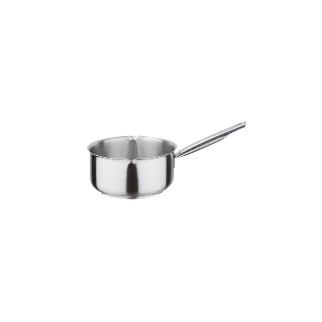 Pujadas Milk Pan 18/10 Stainless Steel Chemworks Hospitality Supplies Canberra