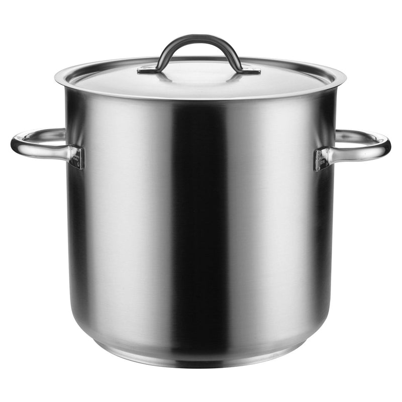 Pujadas Stockpot With Cover 18/10 Stainless Steel Chemworks Hospitality Supplies Canberra