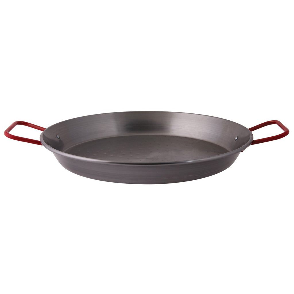 Pujadas Non-Stick Paella Pan Black Steel Chemworks Hospitality Supplies Canberra