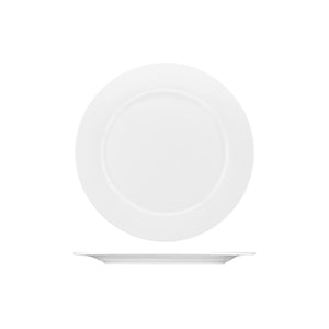 PA3230 Australian Fine China Pacific Round Wide Rim Plate. Bone China 230mm Chemworks Hospitality Canberra