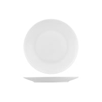 PA4250 Australian Fine China Pacific Round Coupe Plate. Bone China 250mm Chemworks Hospitality Canberra