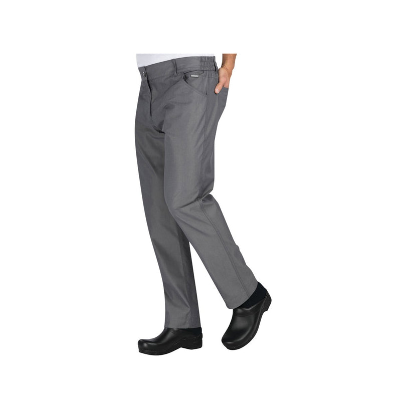 PEN02-SBL-S Chefworks Chef Pants Steel Blue Professional Chef Pants  Small Chemworks Hospitality Canberra
