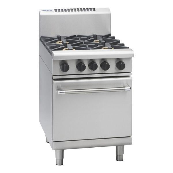 MO-RN8410G Waldorf 600mm Gas Oven Range with Static Oven Chemworks Hospitality