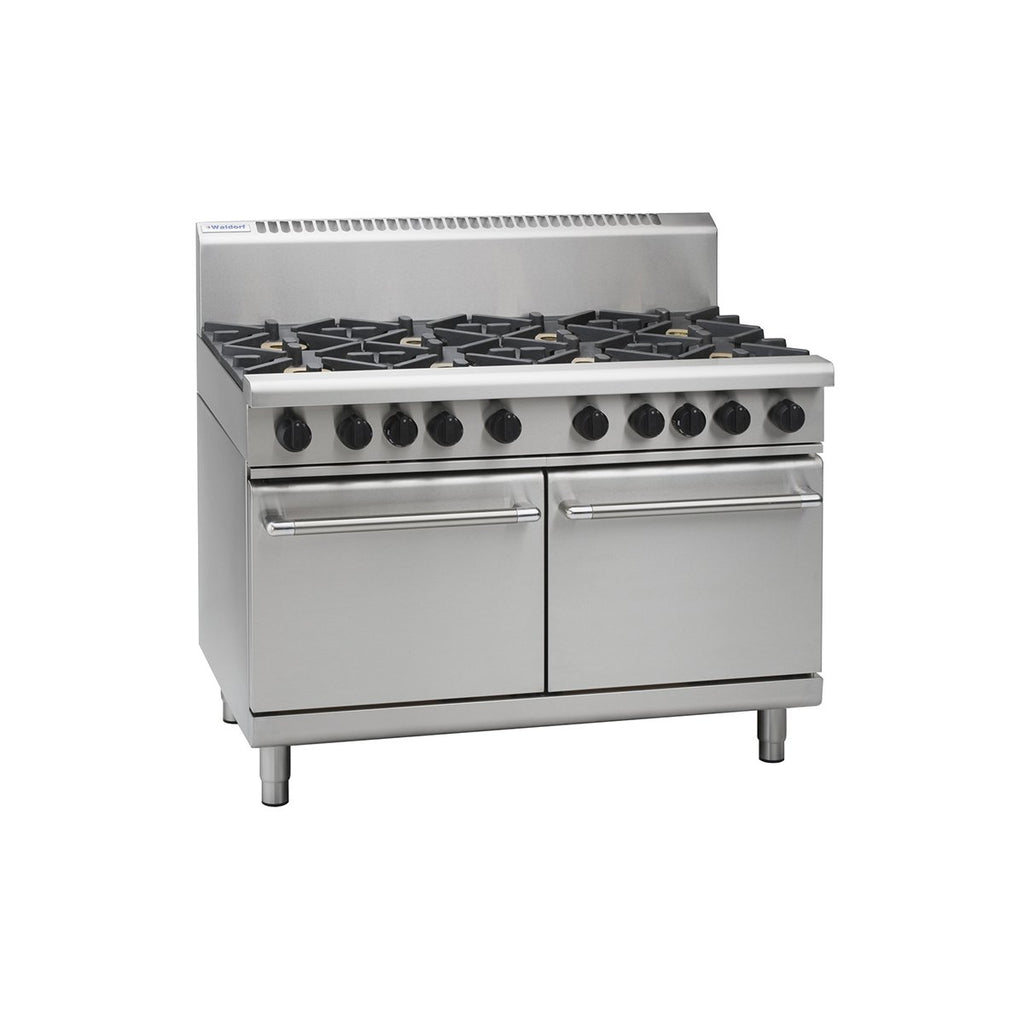 MO-RN8820G Waldorf 1200mm Gas Double Oven Range with 2 Static Ovens Chemworks Hospitality