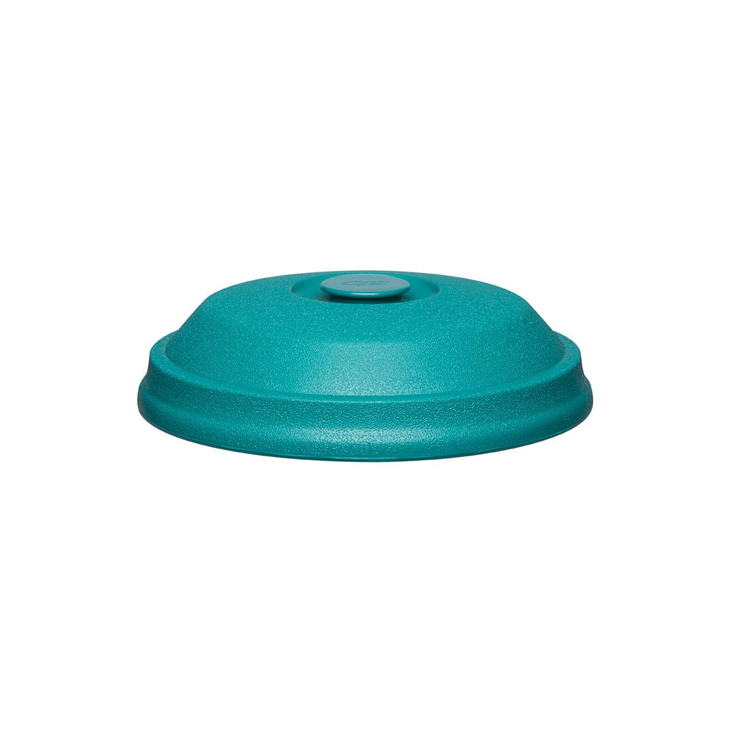 T97B-MOF Insulated Dome Plate Cover Teal 230mm Chemworks Hospitality Canberra