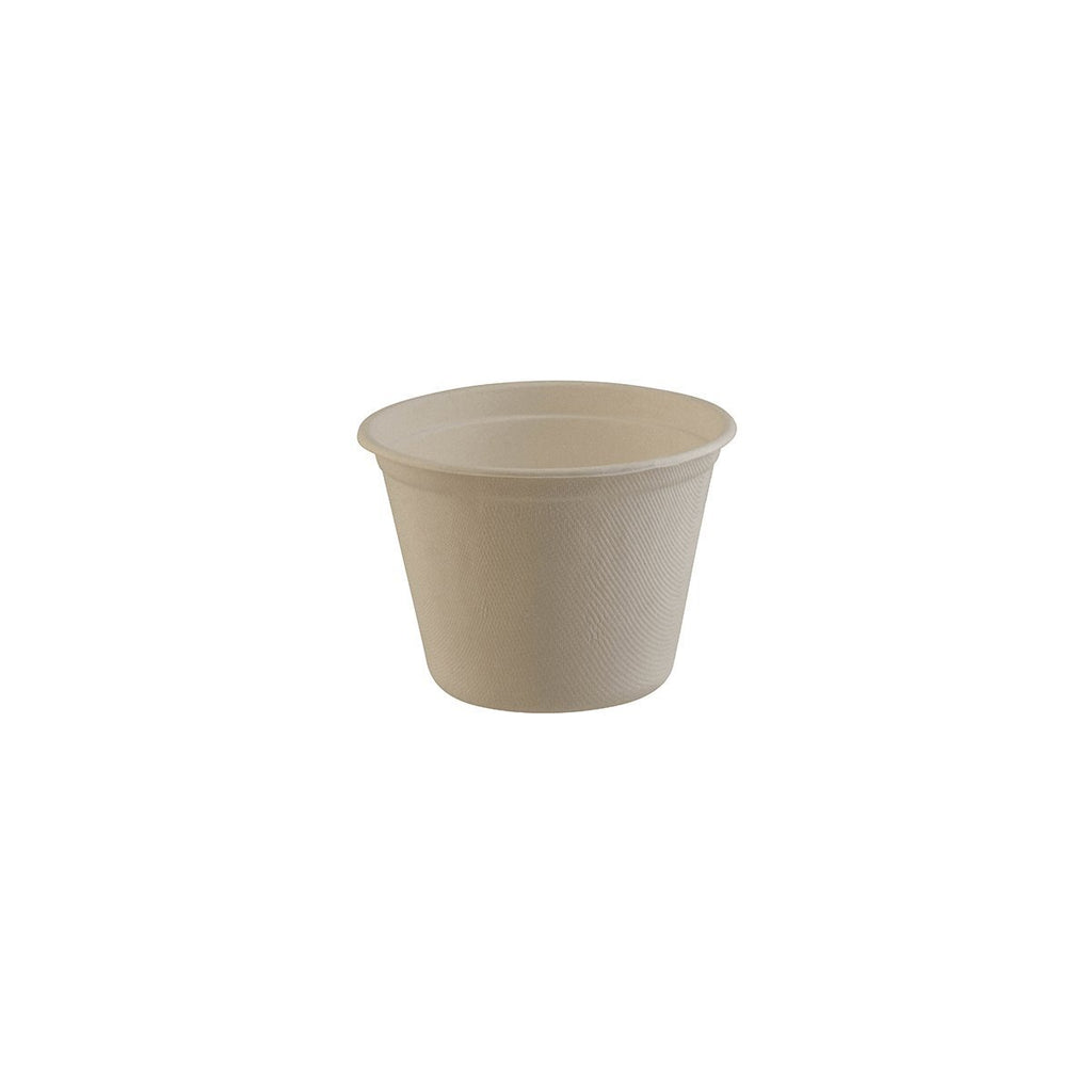 TW22B BioPak Tub Natural Coloured Tub - 650ml Chemworks Hospitality Canberra