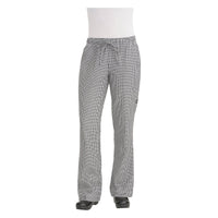 WBAW-XS Chefworks Chef Pants Baggy WomanÕs Small Check Baggy WomanÕS Chef Pants  X-Small Chemworks Hospitality Canberra