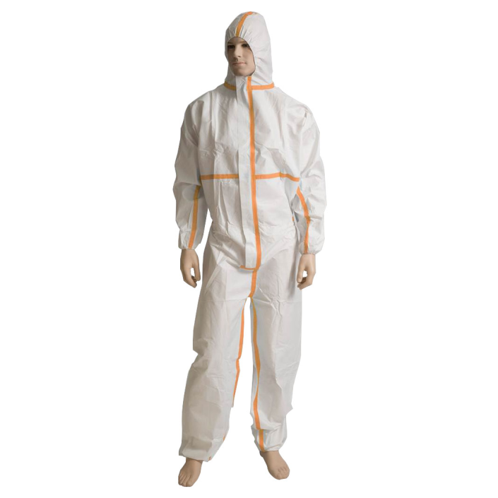 Bastion Microporous Coverall Type 4/5/6 White CTN/50