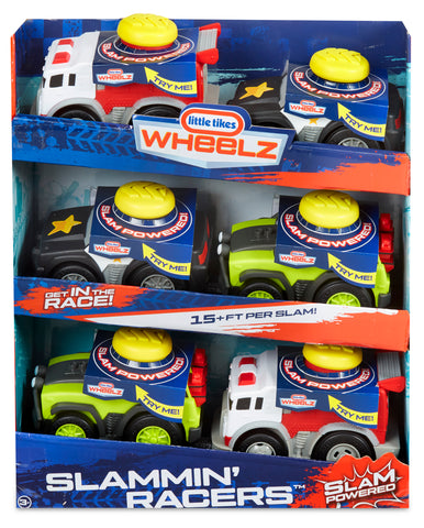 Little Tikes Slammin' Racers Assortment in PDQ