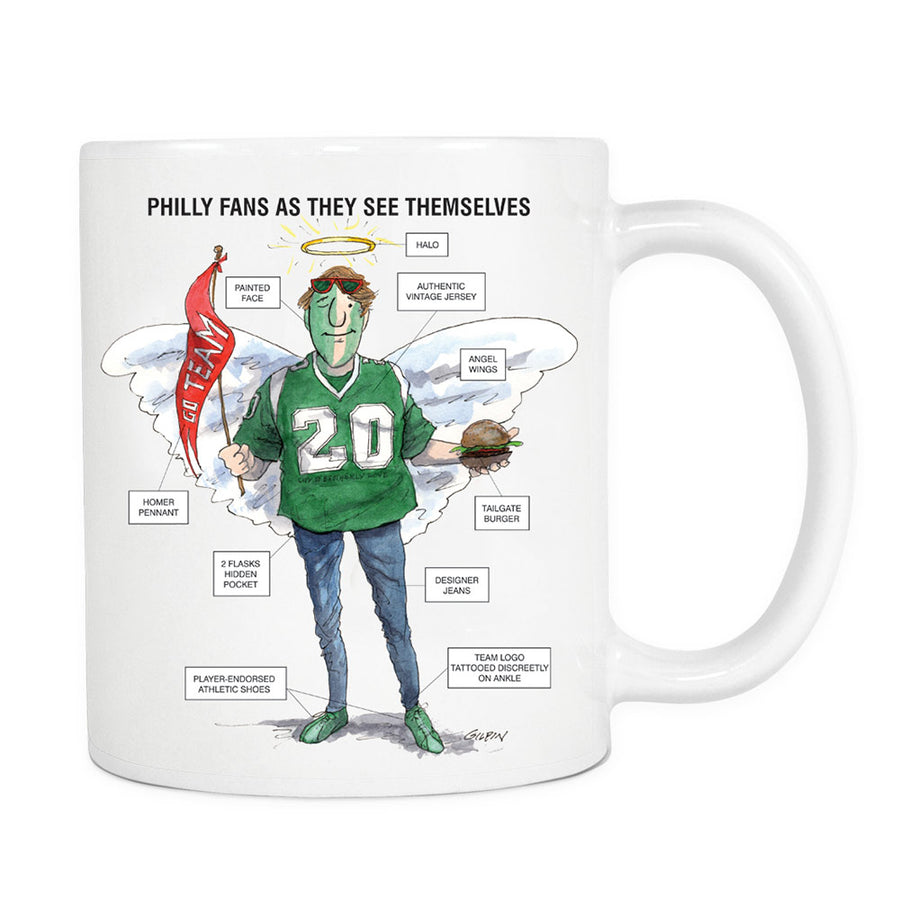 Philly Fans Mug Large